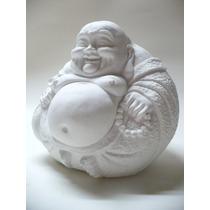 Pieza De Yeso: Buda Chino Grande (abundancia Y Alegria)