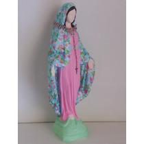 Virgen Milagrosa 40cm Con Rosario Bendecido. Leer Descripc.