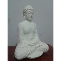 Molde Buda Sentado Meditando Para Yeso Resina Cemento