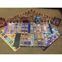 Lote De 75 Cartas Yu Gi Oh! Originales