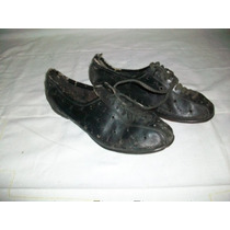 Antiguos Zapatos Para Ciclismo Nº40/41 -dec. Del 50