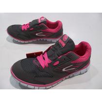 Zapatillas Dunlop Running Mujer Lite Orig Lavalledeportes