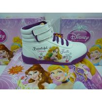 Disney Original Botas De Princesas Con Luces Talles 23 A 30