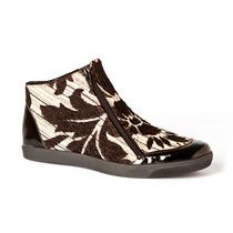 Zapatillas Mujer Tipo Botitas C/cierres Diseño Mule Zapatos