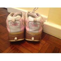 Zapatillas Barbie Con Rueditas Footy! Nro 34(21,5cms)