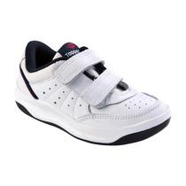 Zapatilla Tenis Topper X Forcer Velcro Kids Niños (023584)