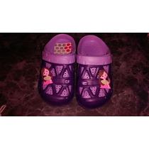 Zapatos Suecos Tipo Crocs Princesas Importados Miralos!