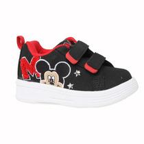 Zapatillas Disney Baby Amigos Mickey Parche Velcro
