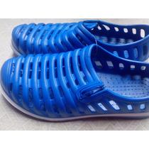 Zapatillas De Goma Ojotas Nuevo Modelo Tipo Crocs Importada
