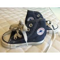 Botita Converse Azul Bebe Talle 3usa/19usa