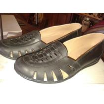 Zapatillas Cuero Solo Numero 35 Y 36
