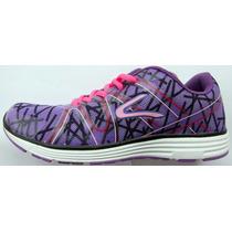 Zapatillas Dunlop Running Caminata Gym Mujer Livianas Moder