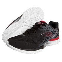Zapatillas Olympikus Modelo De Niños Running Sun Negro/rojo