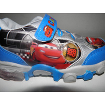 Zapatillas Cars Con Luces.