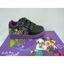 Disney Zapatillas De Minnie Con Luces Talles Del 23 A 29