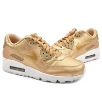 Zapatillas Nikee Air Max 90 Doradas
