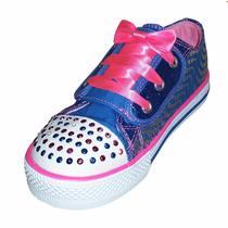 Zapatillas Skechers Con Luces !!! Se Iluminan Al Caminar !!!