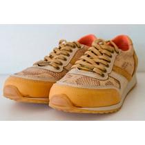 Zapatillas Sneakers Sport Segovia Cuero Heyas - Araquina