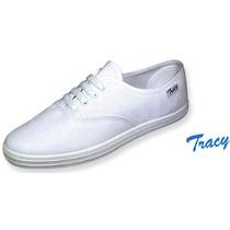 12 Pares Zapatillas Acordonadas Tracy.tipo Deli, X Mayor