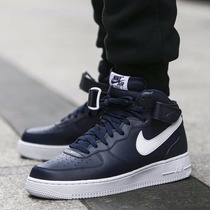 Nike Air Force 1 Mid Navy