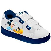 Zapatillas Mickey Disney Donald Pluto Con Luz