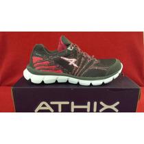 Espectaculares Zapatillas De Mujer Athix Running. Oferta !!!