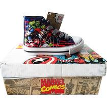 Zapatillas Botitas Vengadores Avengers Marvel Original
