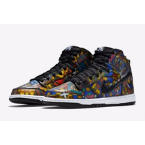 Zapatillas Cncpts X Nike Sb Dunk High Stained Glass