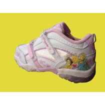 Zapatillas Niña Princesa, Con Luces!!