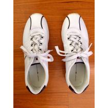 Zapatillas Cuero Tommy Hilfiger Originales Como Nuevas