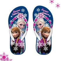 Disney Ojotas Originales Con Luz De Frozen Talles 27 Al 29