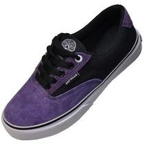 Zapatillas Airwalk Negro Violeta!!! - Zero Absoluto -