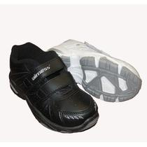 Zapatillas Colegial Airness 688 Niños 28 Al 35 Con Velcro