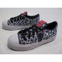 Zapatillas Topper Tokidoki Profesional Low Nena Original
