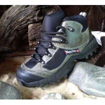Zapatillas Trekking Botitas Reforzada