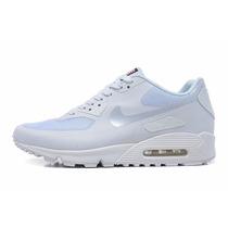 Zapatillas Nike Air Max 90 Hyperfuse Blancas - Mujer