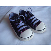 Zapatillas Converse Nena Combinadas Importadas Impecables