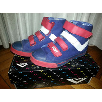 Zapatillas Botitas Pony C/ Velcro Shooter Hi Full Live