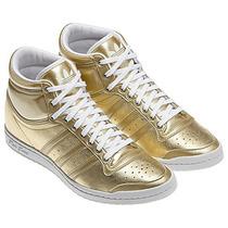 Botitas Adidas Originals Mujer Sleek Series Golden/doradas