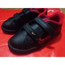 Zapatillas Cuero Nike Abrojo 27 Us 10 Importadas Usa Niño