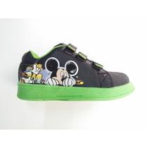 Zapatillas Mickey Addnice Con Luz Promocion Mundo Moda Kids