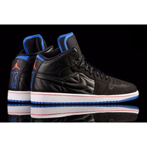 Zapatillas Jordan 1 Retro 99 Black/blue-infrared 23 Talle 9