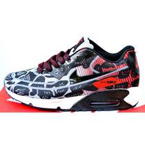Zapatillas Nike Air Max 90 Premium Originales En Caja.