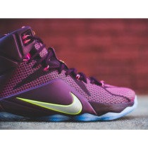 Lebron James 12 Originates En Stock Basquet!!! Talle 11 Us