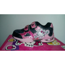 Zapatilla Hello Kitty Con Luz Footy Original
