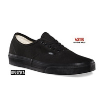 Zapatillas Vans Authentic Negras Skate Envio Gratis