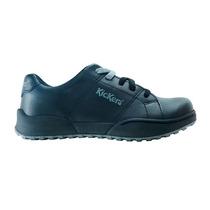 Zapatillas Chicos De Cuero Negras Cordones Kickers 27 Al 34