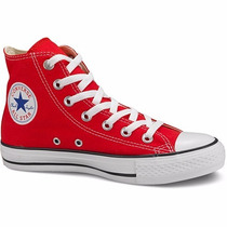 Zapatillas Botitas Chuck Taylor All Star Ii Rojas