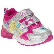 Zapatillas Importadas Barbie Con Luz