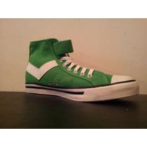Zapatillas Hi Pony Vulcanizado Verde/blanco